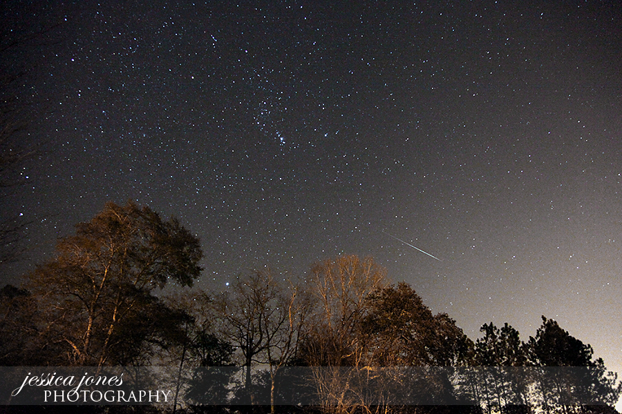 Geminid Meteor Shower From South Georgia