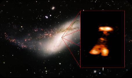 Galaxy NGC 660 Outburst