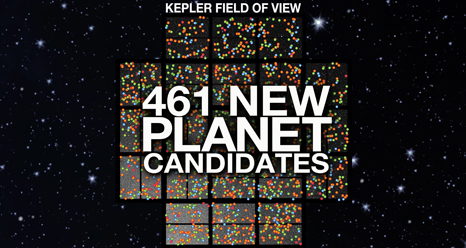 461 New Alien Planet Candidates for Kepler