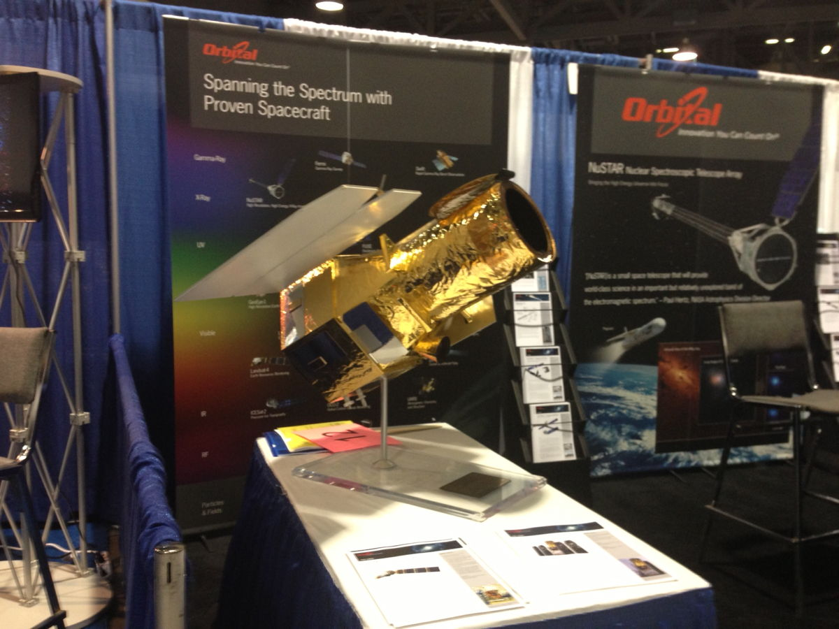 Orbital Sciences Booth at the AAS Meeting 2013