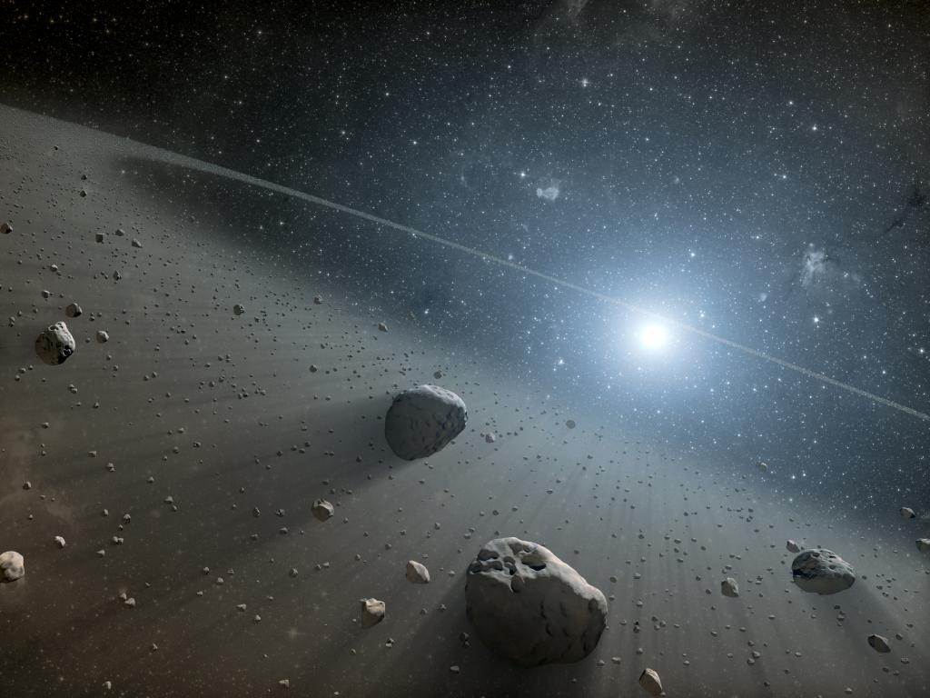 Alien Asteroid Belt Discovery Hints at Hidden Planets