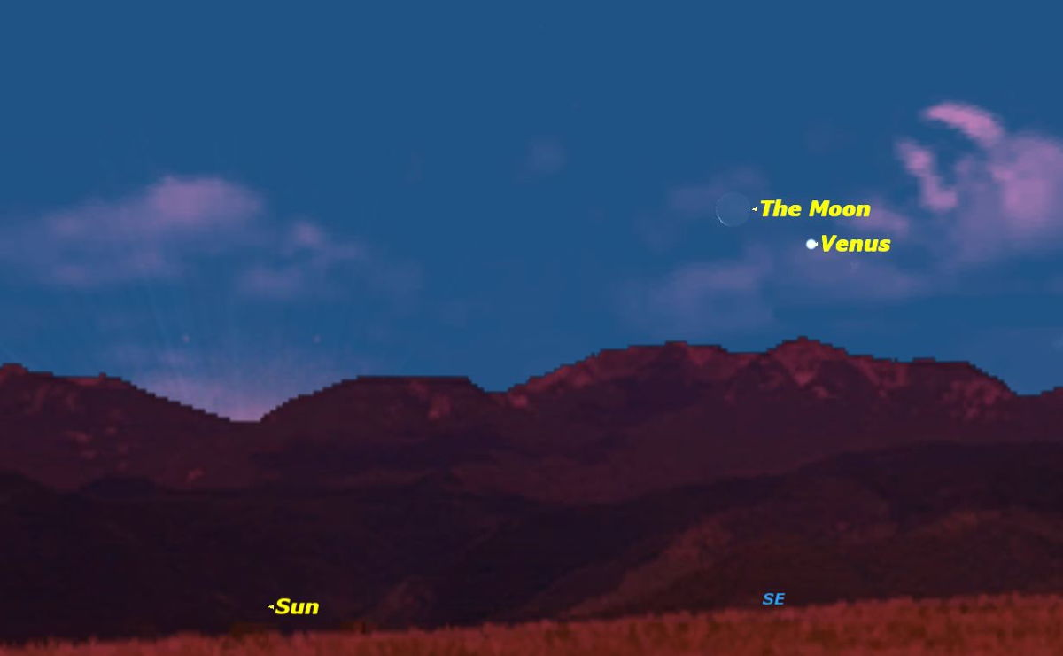 See Venus Bid Crescent Moon Farewell Early Thursday