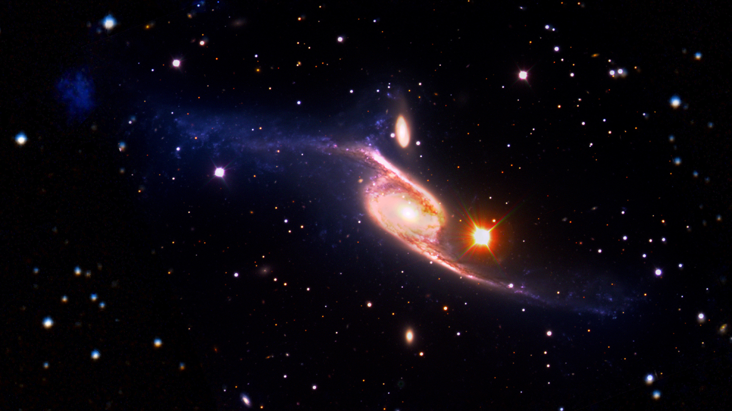 Largest spiral galaxy in universe revealed for Immagini spazio hd