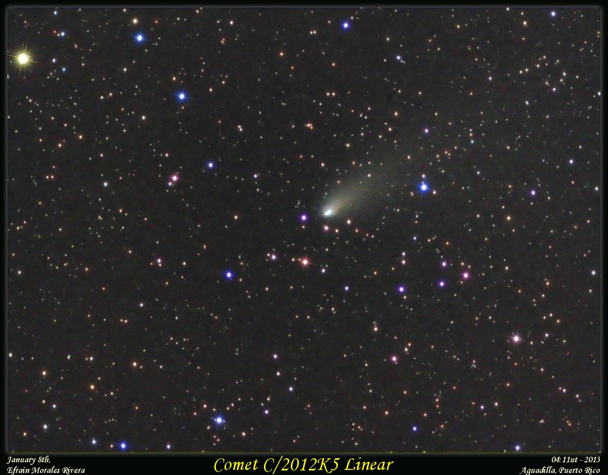 Comet C/2012K5 in the Orion Region