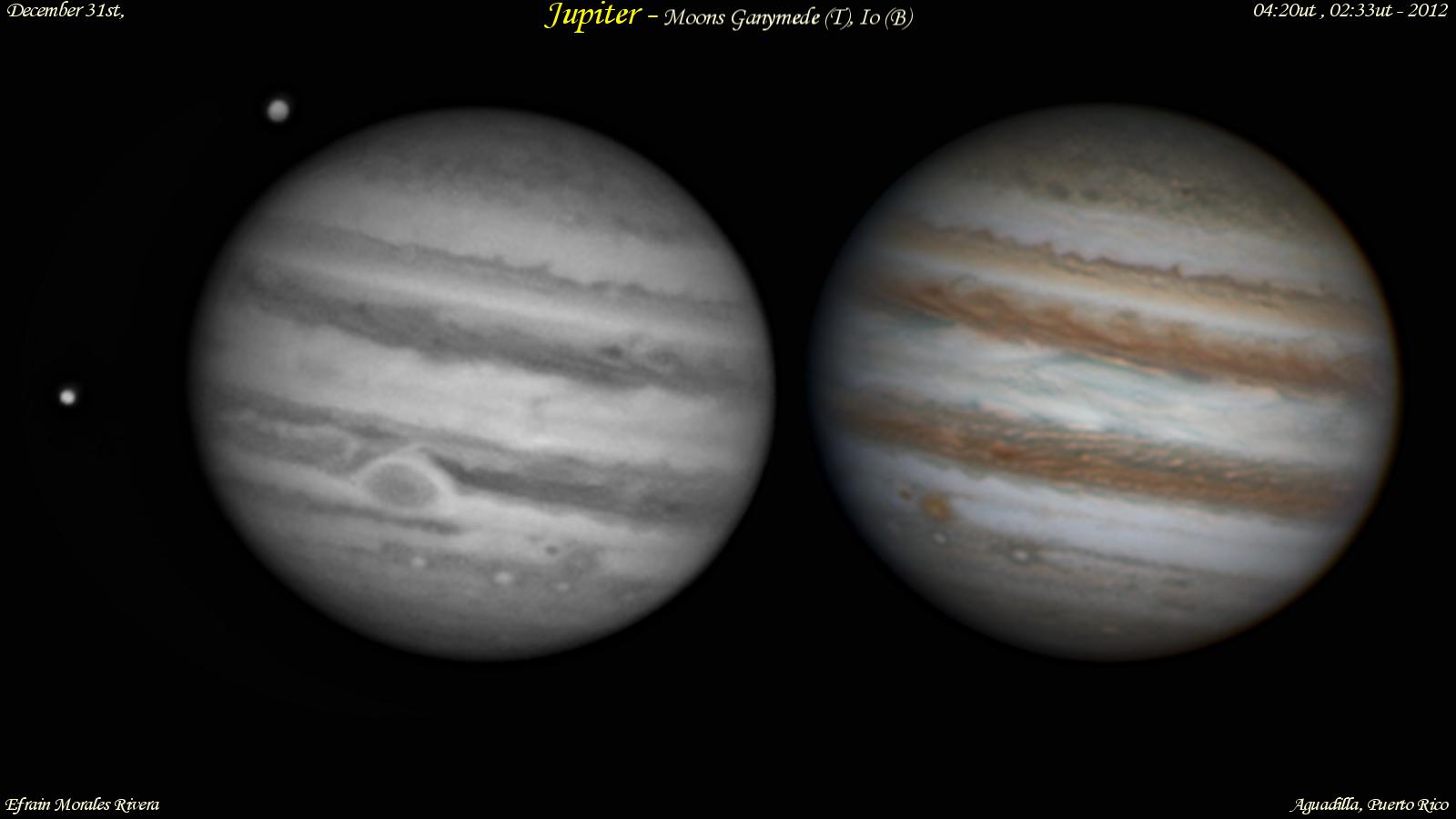 Ganymede and Io