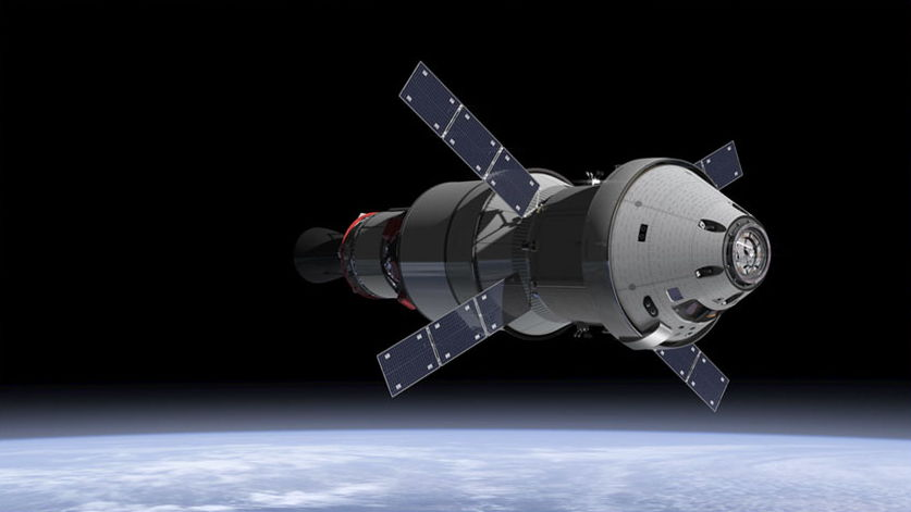 Orion Crew Module and Service Module