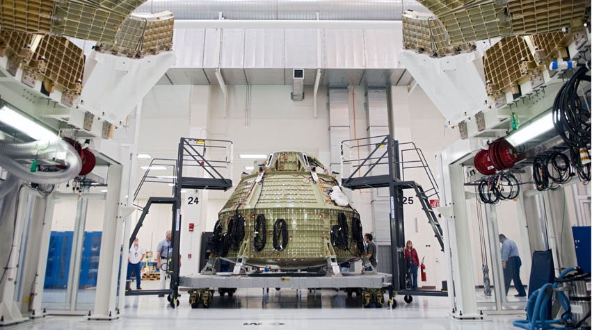 Orion Crew Module Construction
