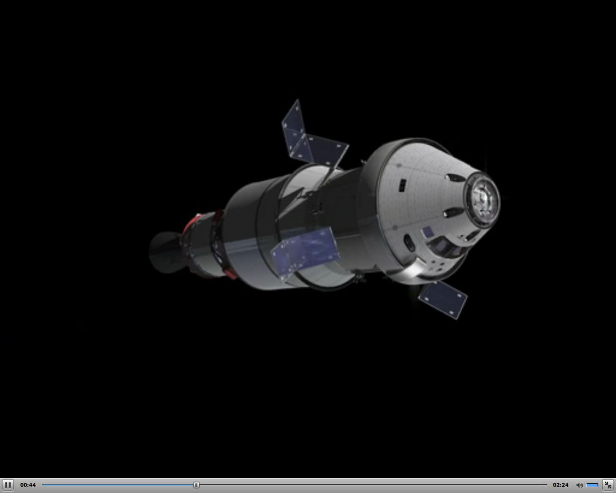 Orion Service Module by the ESA