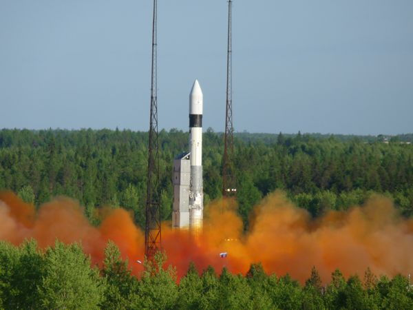 Russia Launches 3 New Military Satellites