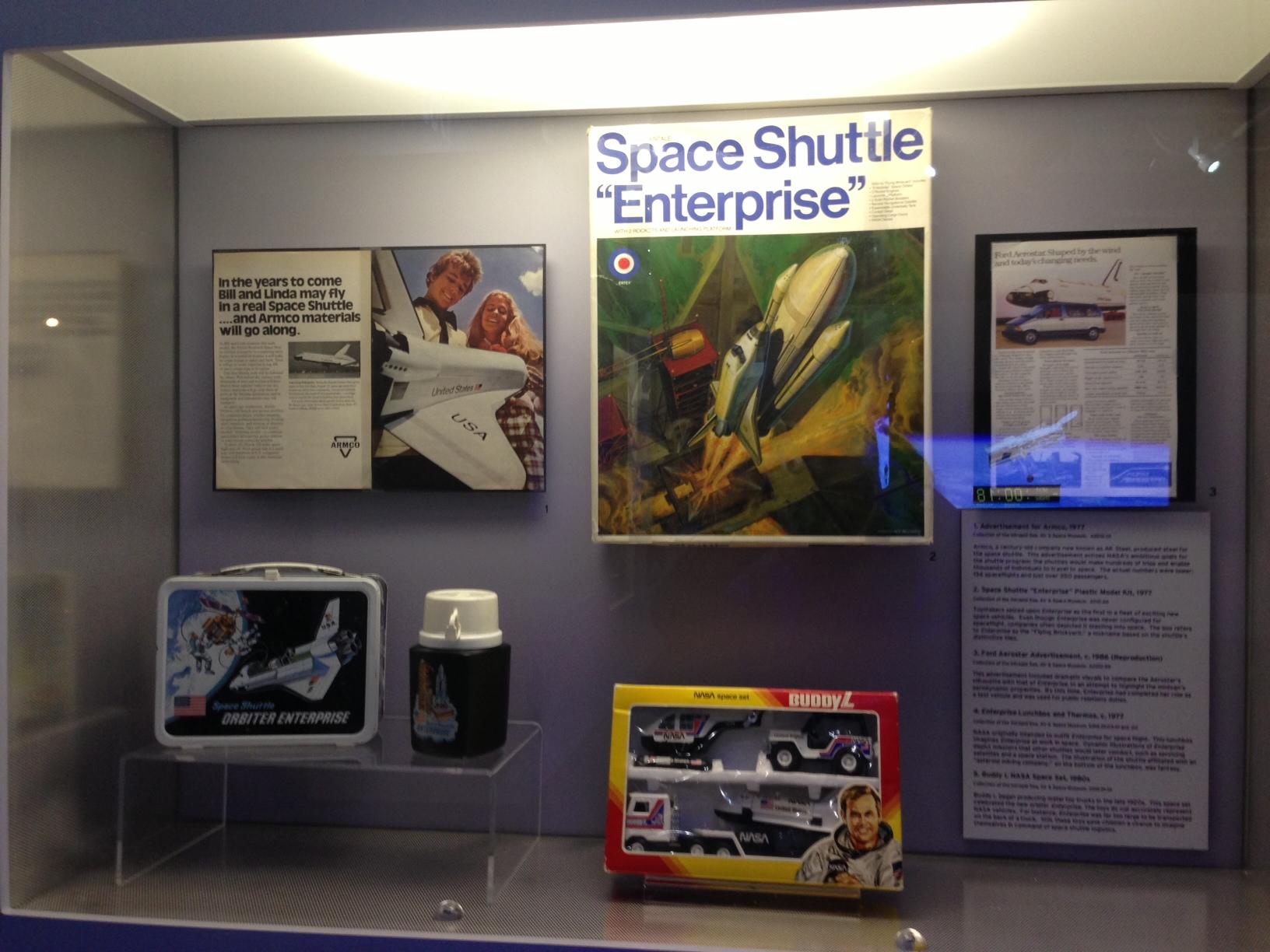 Shuttle Enterprise Memorabilia