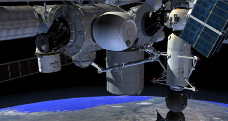 Bigelow BEAM Habitat Docked to International Space Station