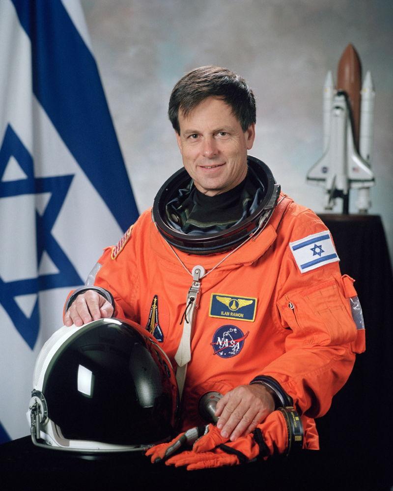Astronaut Ilan Ramon
