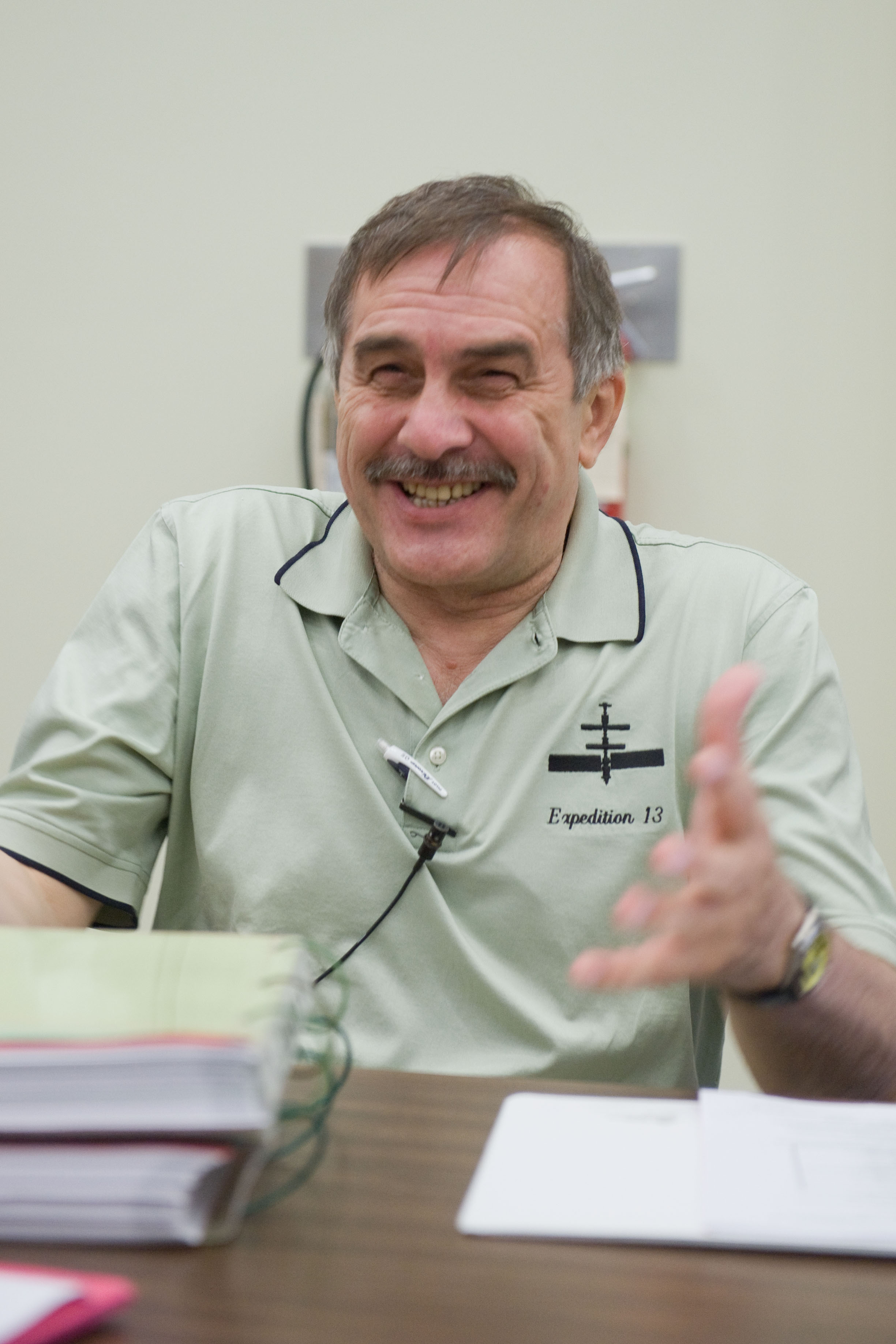 Russian cosmonaut Pavel Vinogradov