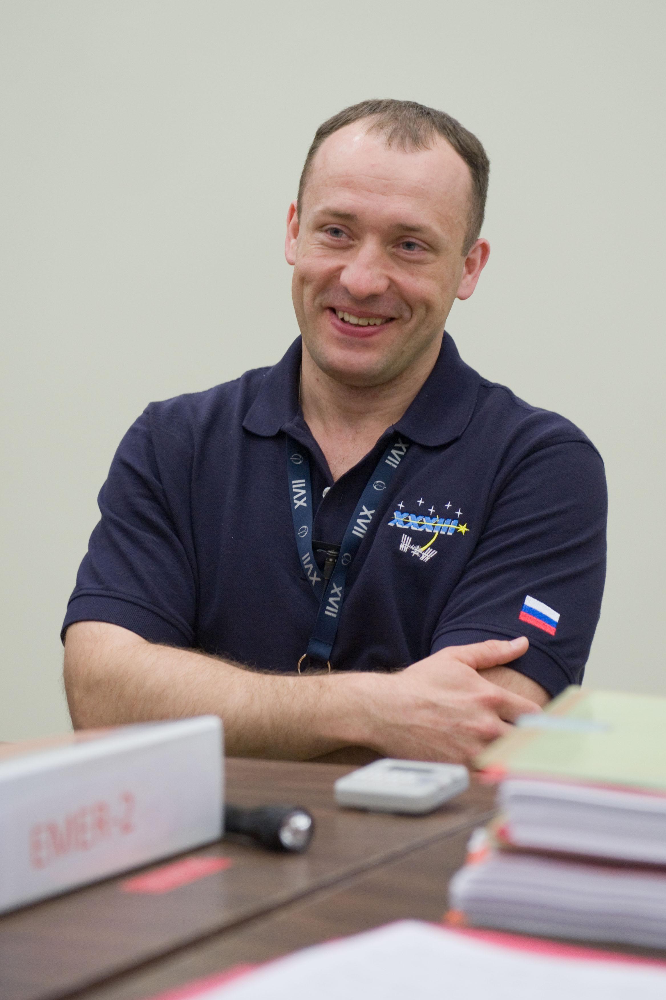 Russian Cosmonaut Alexander Misurkin
