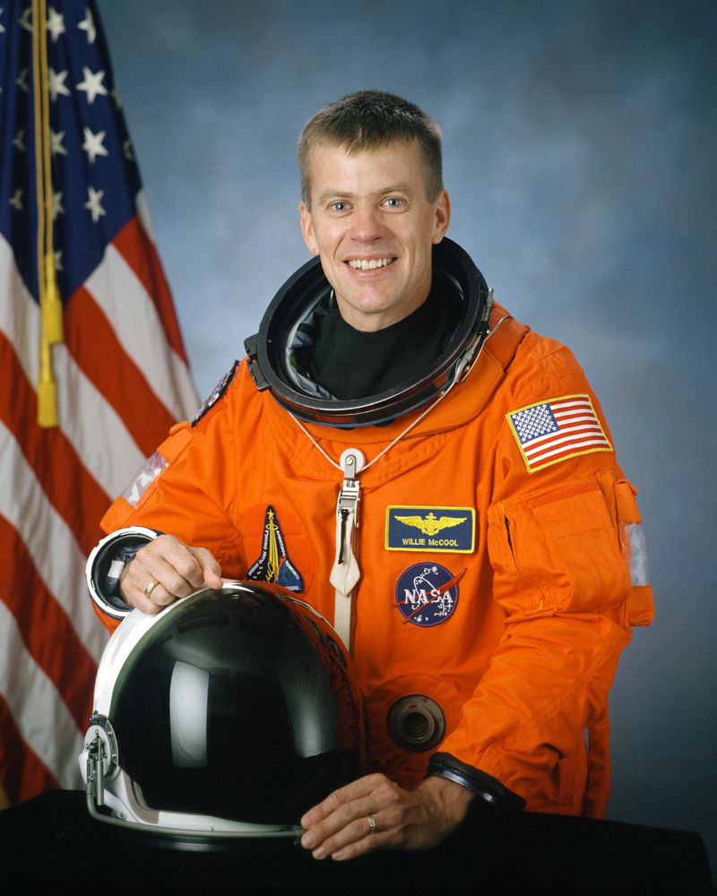 Astronaut William C. McCool