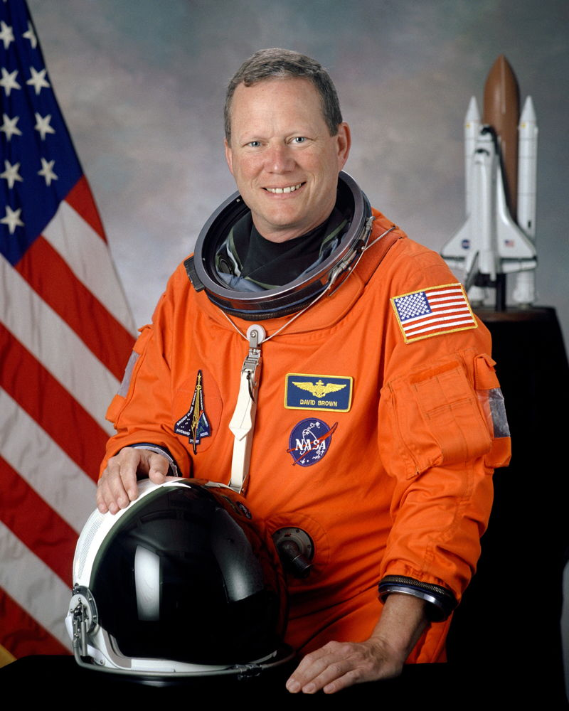 Astronaut David M. Brown