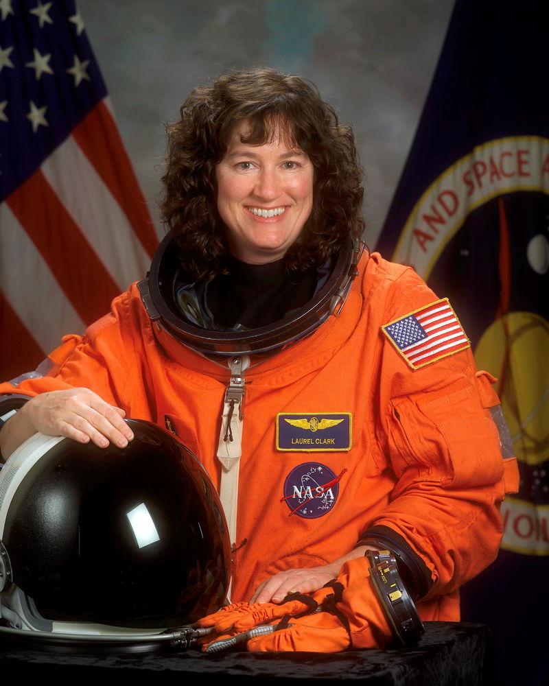 Astronaut Laurel B. Clark