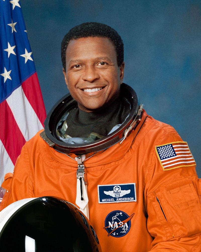 Astronaut Michael P. Anderson,