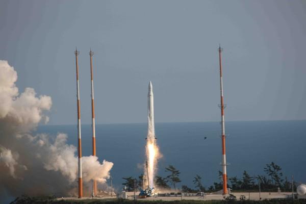 KSLV-1 Rocket Blasts Off