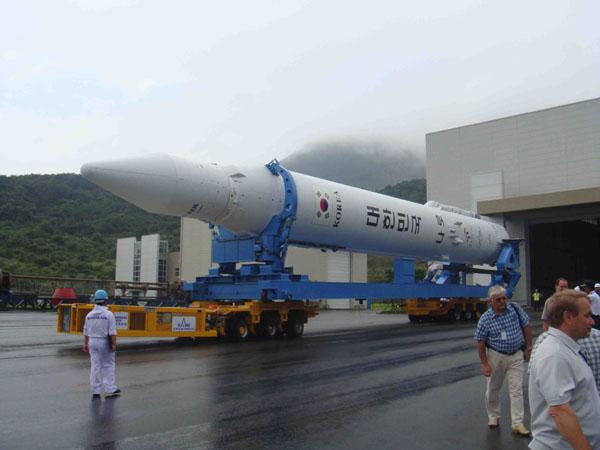 Korea Space Launch Vehicle -1 (KSLV-1) Rollout