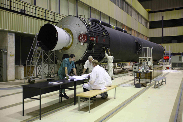 Testing Stage 1 of South Korea launcher