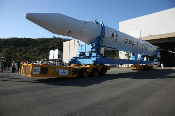 South Korea Rocket Rollout