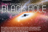 "Black holes are strange regions where gravity is strong enough to bend light, warp space and distort time. [<a href=""http://www.space.com/19339-black-holes-facts-explained-infographic.html"">See how black holes work in this SPACE.com infographic</a>."