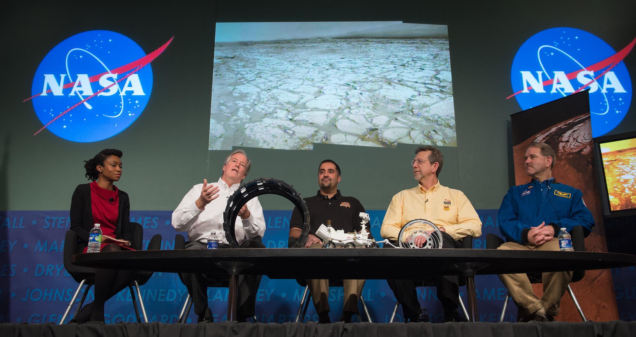 Obama Inauguration 2013: Mars Exploration