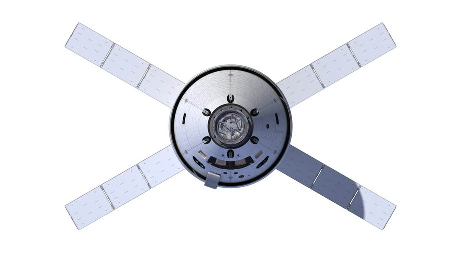 Orion Space Capsule Solar Panels