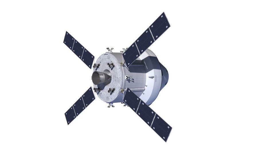 Orion Space Capsule 4-Panel Solar Array