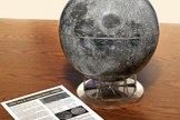 "12"" Moon Globe. <a href=""http://store.hermanstreet.com/science/moon-globe/skin-Space?ICID=Space-article"">Buy Here</a>"
