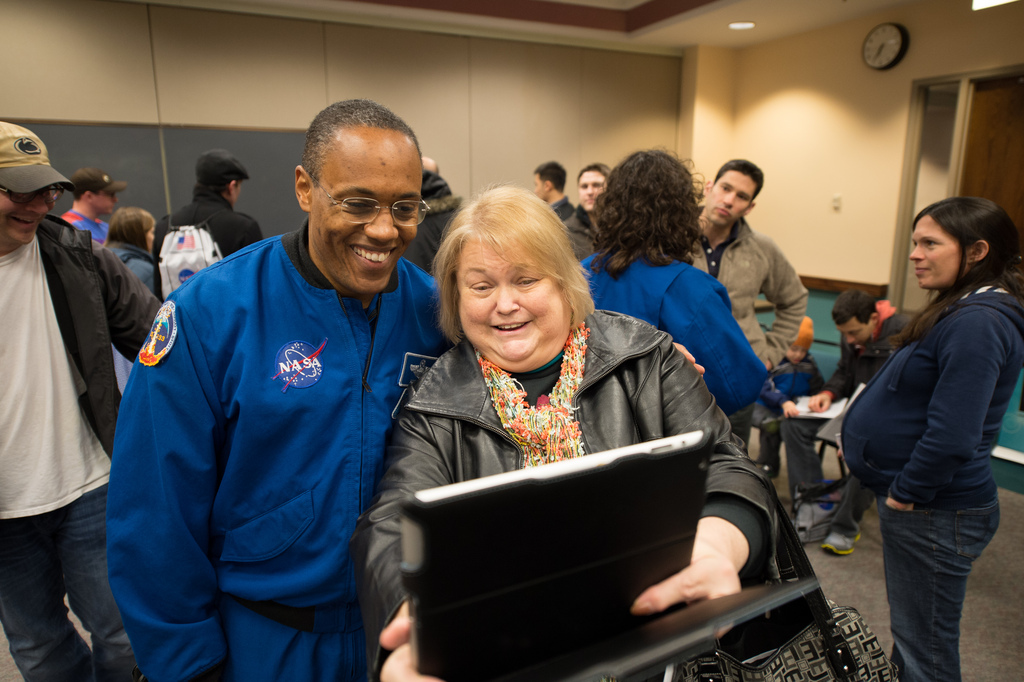 Photos With Astronauts at NASA Star Party