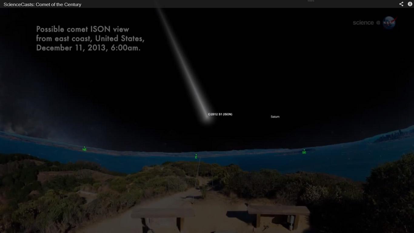 Comet ISON: Dec. 11, 2013