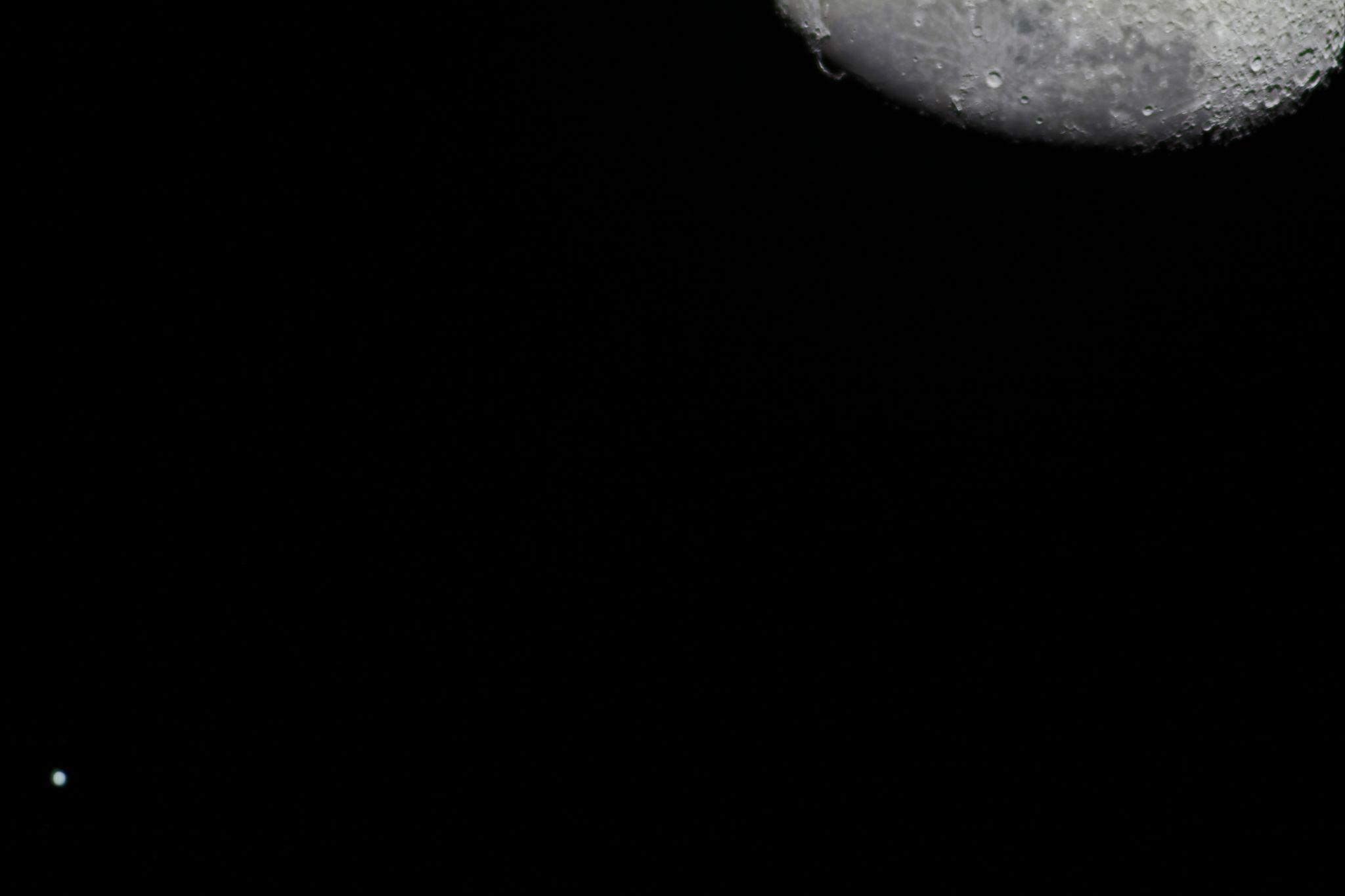 Moon and Jupiter Close Encounter: Victor Rogus