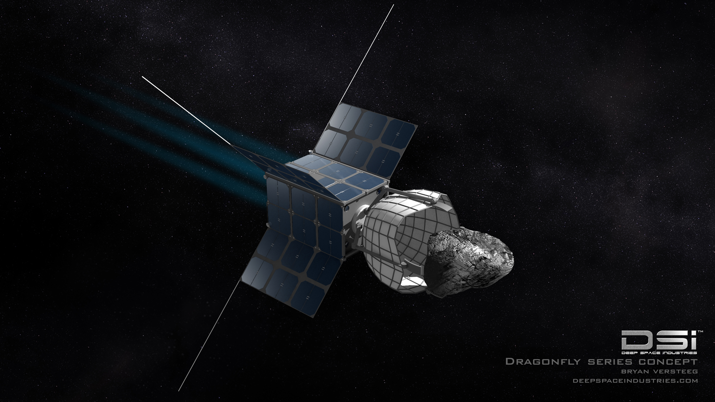 Deep Space Industries Dragonfly Spacecraft