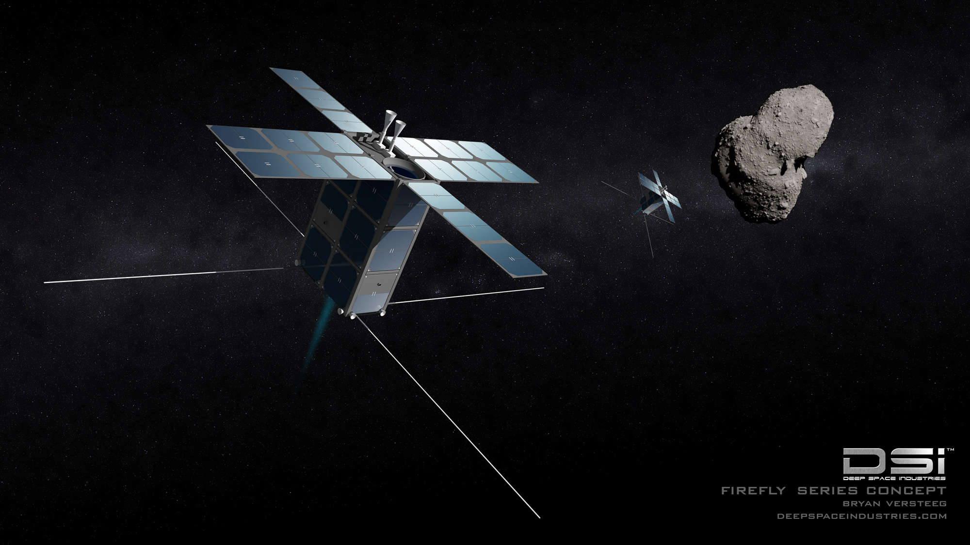 Deep Space Industries' Asteroid-Mining Vision (Gallery)