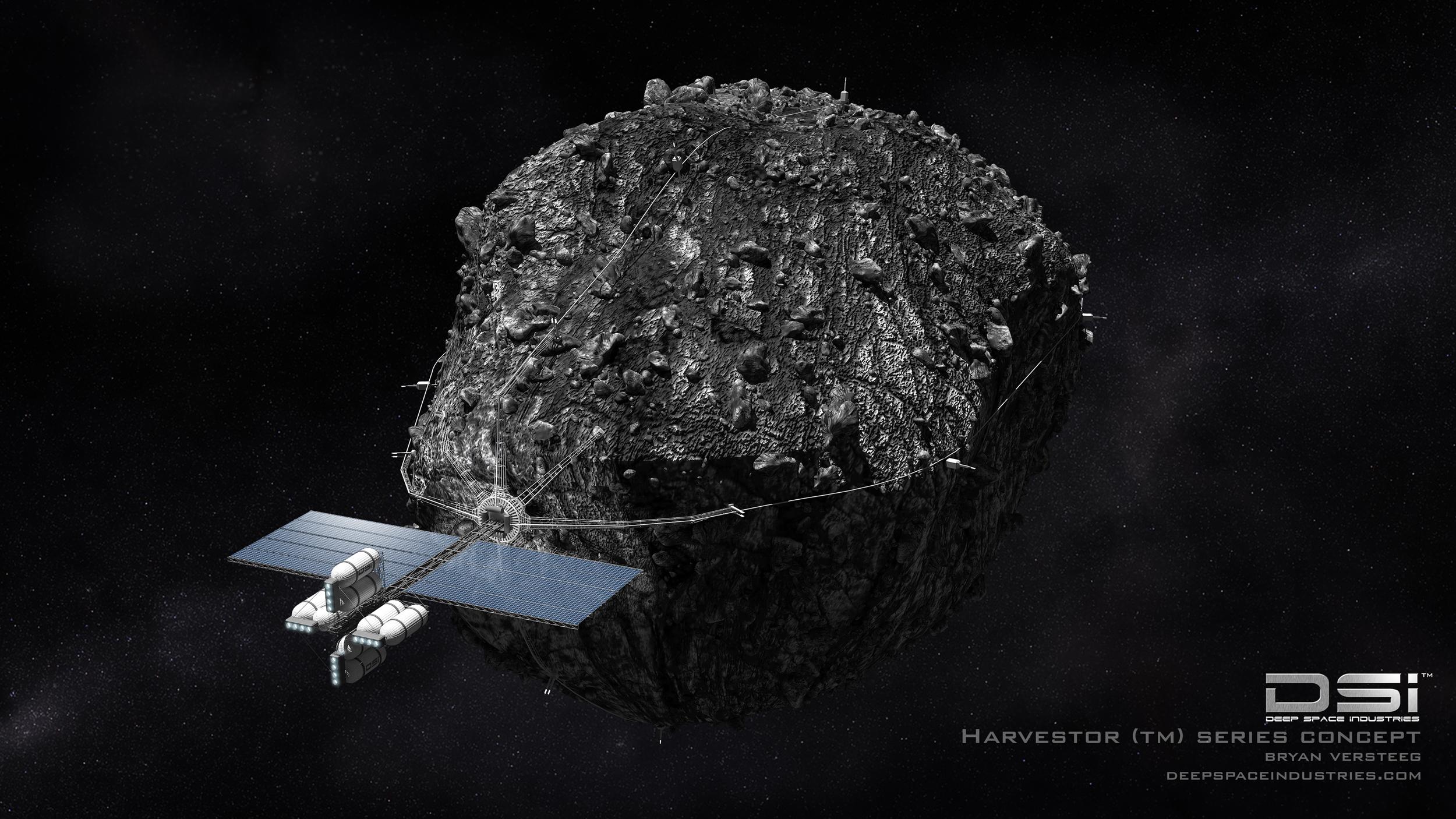 Deep Space Industries Harvestor Spacecraft