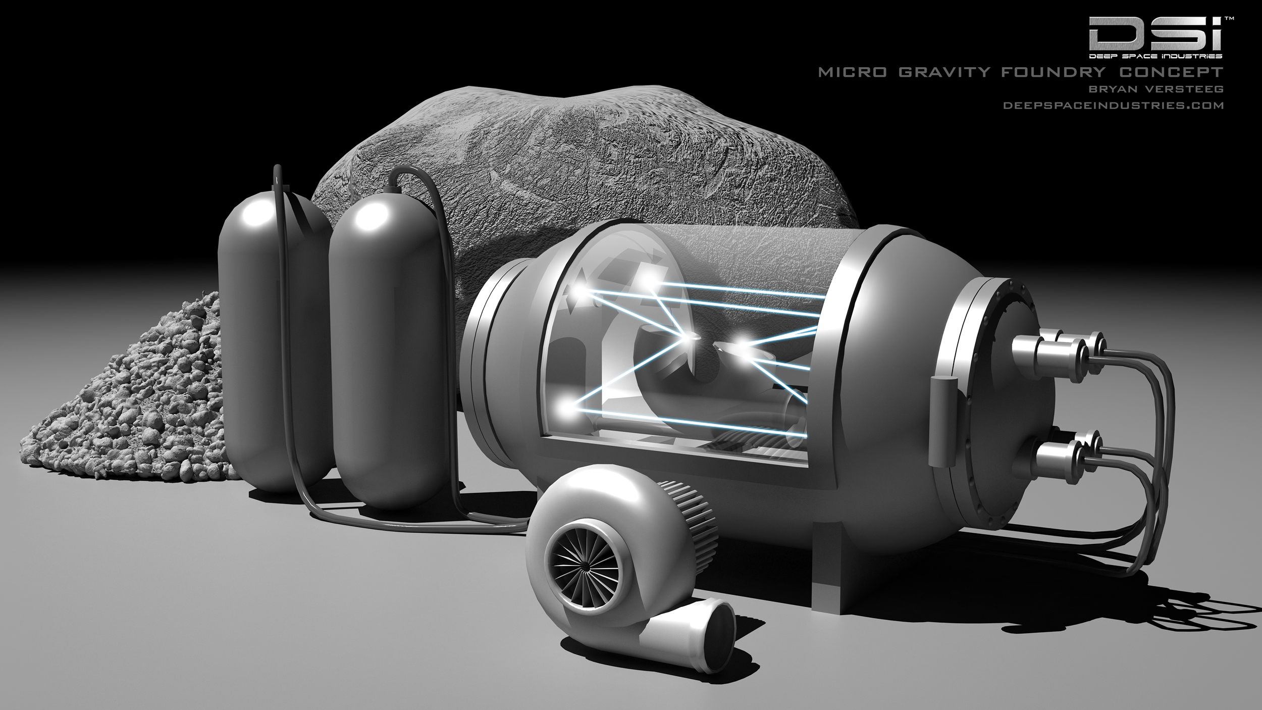 Deep Space Industries Microgravity Foundry