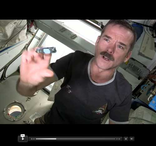 How Astronauts Clip Their Nails in Space