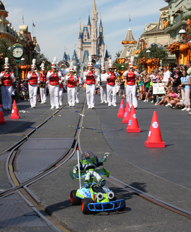 Buzz Lightyear at Disney Parade