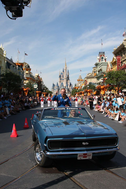 Astronaut Mike Fincke in Ticker-Tape Parade
