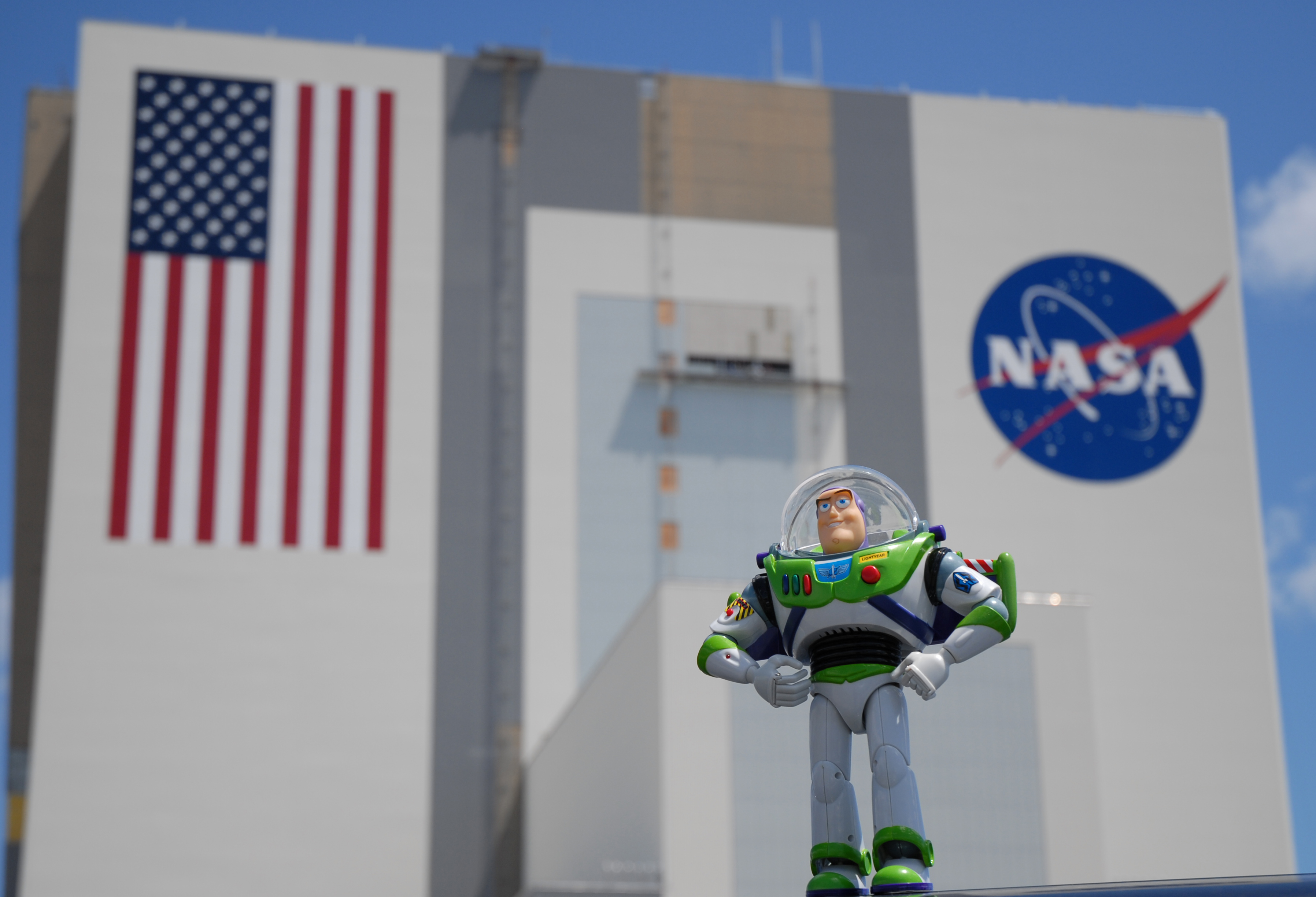 Buzz Lightyear at NASA