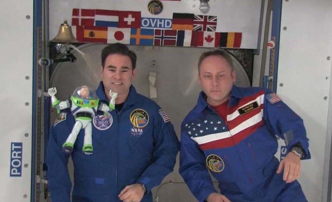 Buzz Lightyear With Astronauts