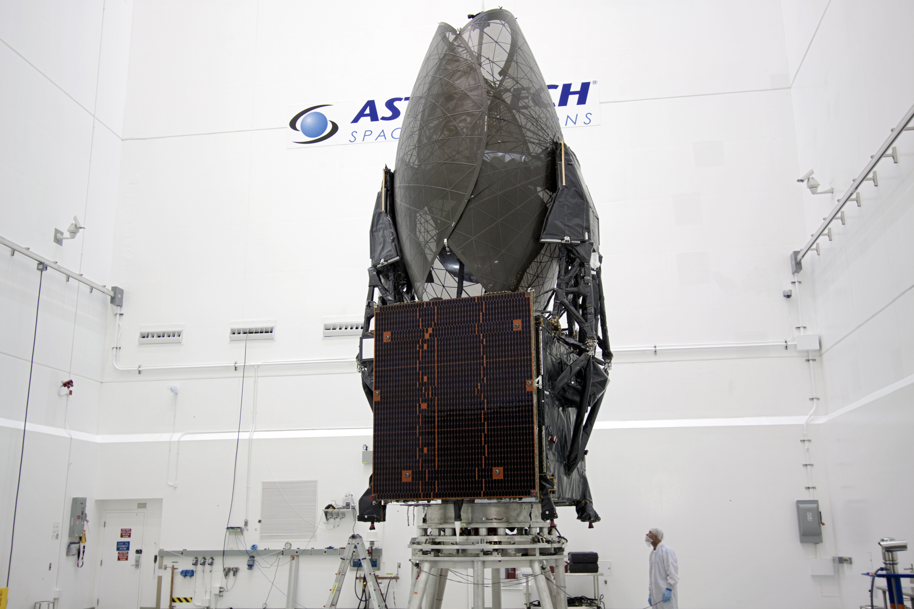 TDRS-K Spacecraft in Hangar