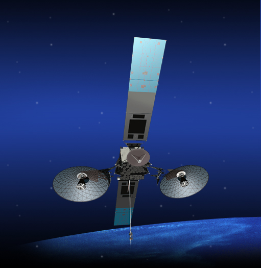 Artist Concept of the TDRS-K Spacecraft