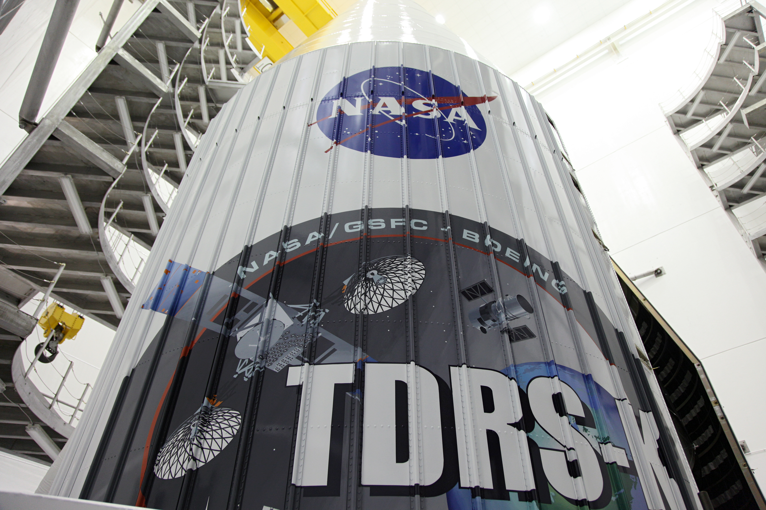 Logo on the TDRS-K Spacecraft