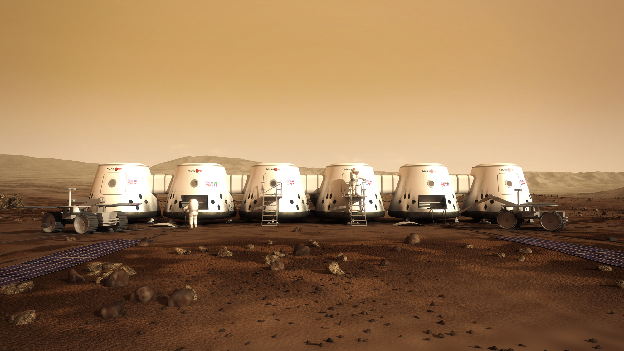 One-Way Mars Colony Project Draws 200,000 Volunteers