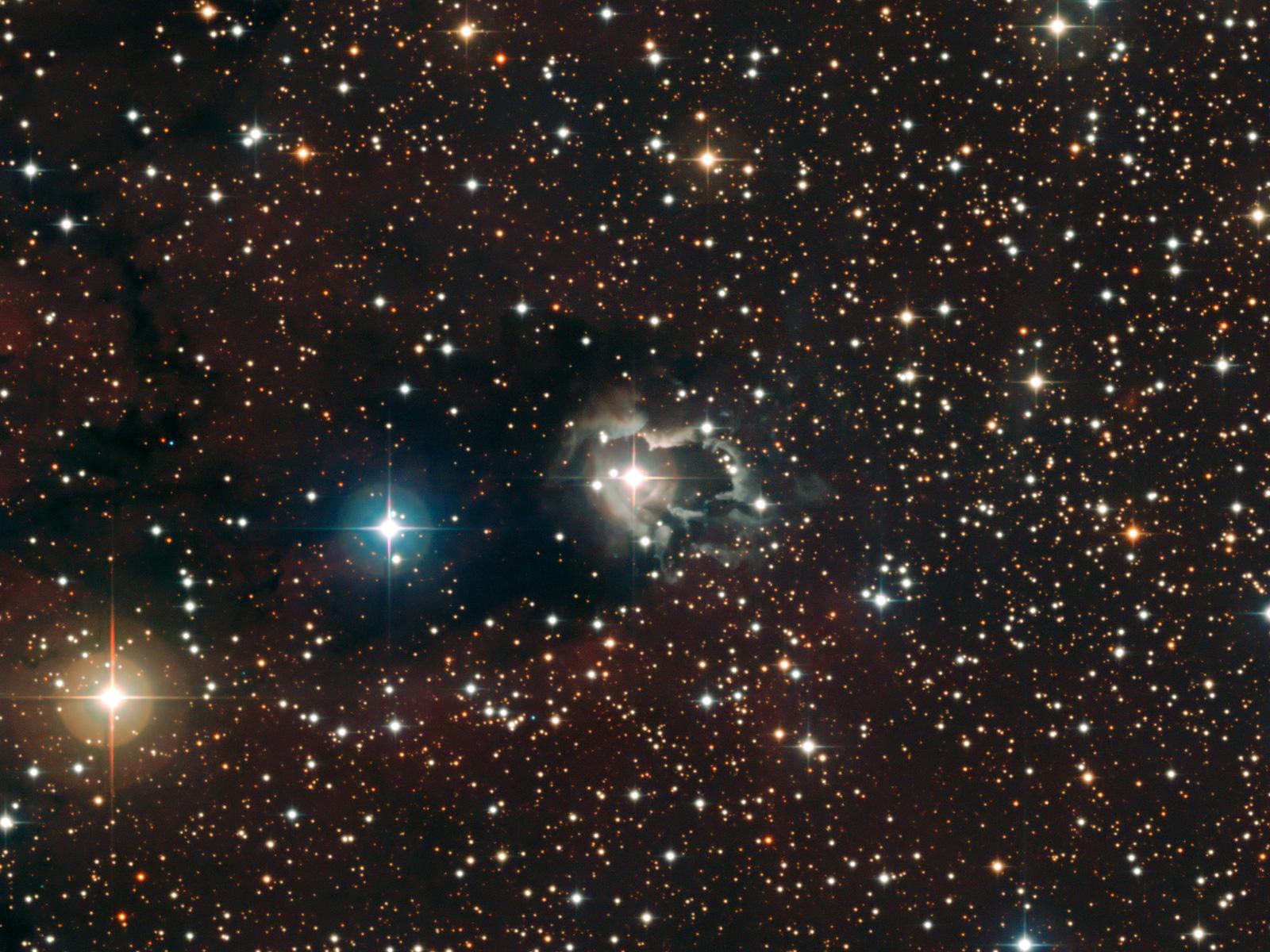 Reflection Nebula around HD 87643 1600
