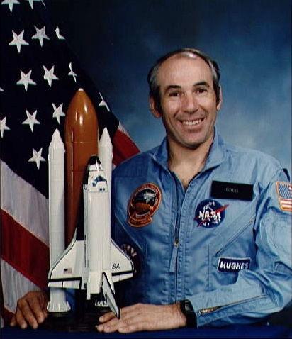 Astronaut Greg Jarvis