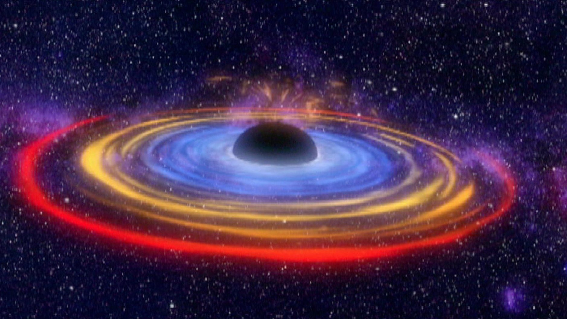 Black holes warping time space video for Time to space